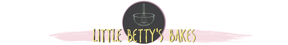LITTLE BETTY'S BAKES, site logo.