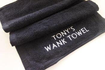 Personalised Wank Towel