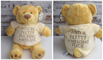 You're pretty fucking awesome & a Pretty awesome fuck Bear