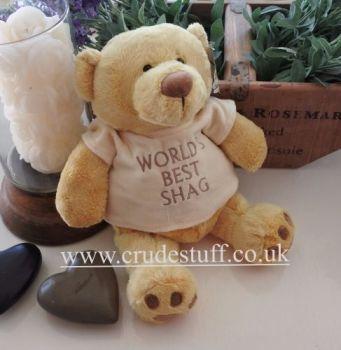 World's Best Shag Bear