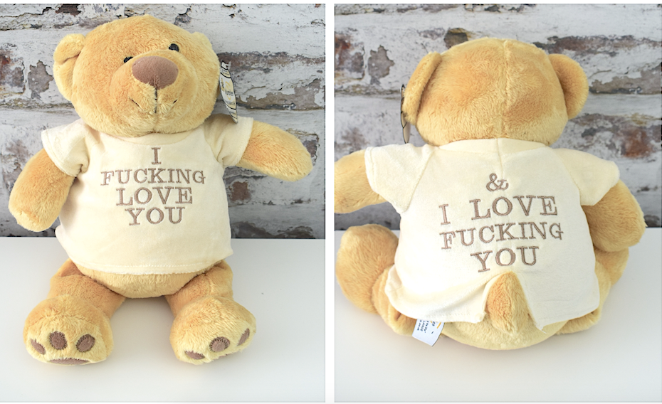 I fucking love you & I love Fucking you Bear