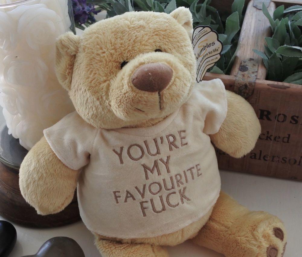 My Favourite fuck Bear