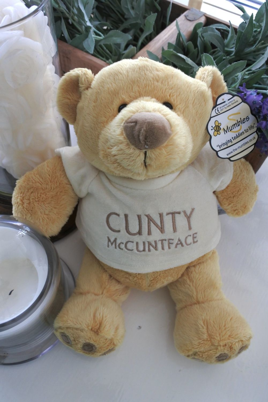 Cunty McCuntface Bear