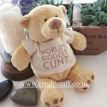 World's Biggest Cunt Bear