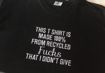 THIS T SHIRT IS MADE FROM...  T SHIRT
