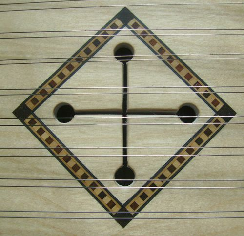 Soundhole inlay by Manning