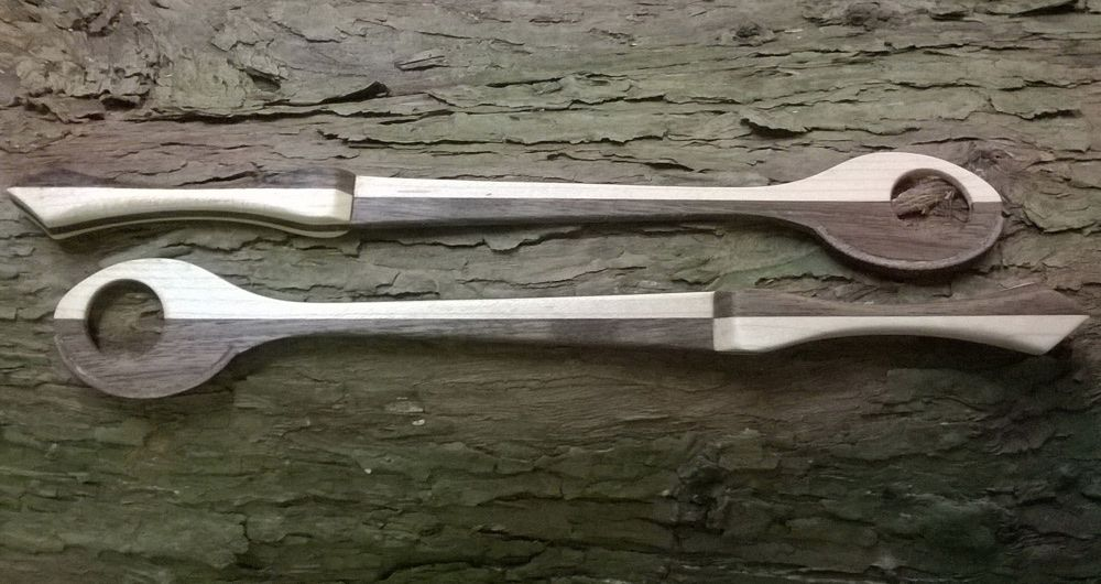 Dulcimer Hammers (double sided) Harlequin