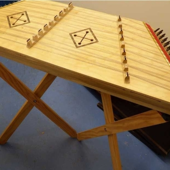 Table Top Pro 9 + 9 Hammered Dulcimer