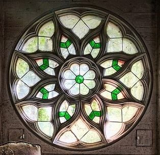 Church window soundhole idea by Tim Manning