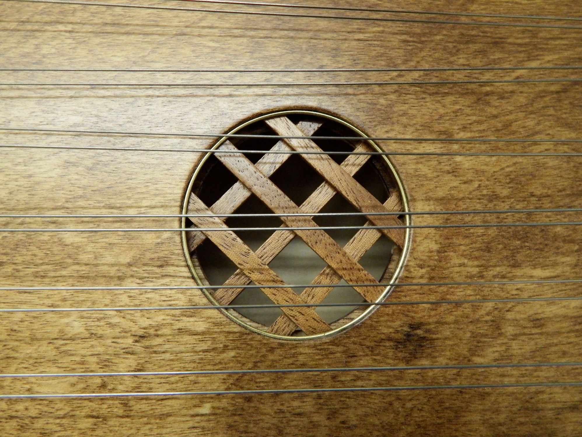 Lattice soundhole by Tim Manning