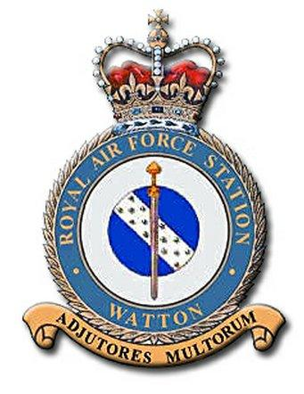 raf watton badge