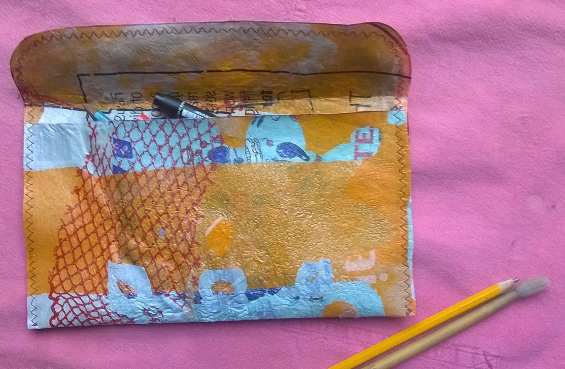 plastic fusion wallet