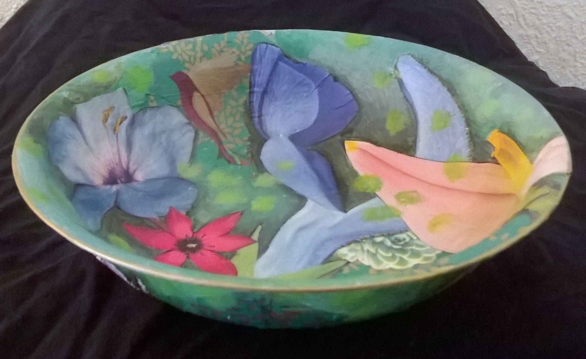 decoupage bowl