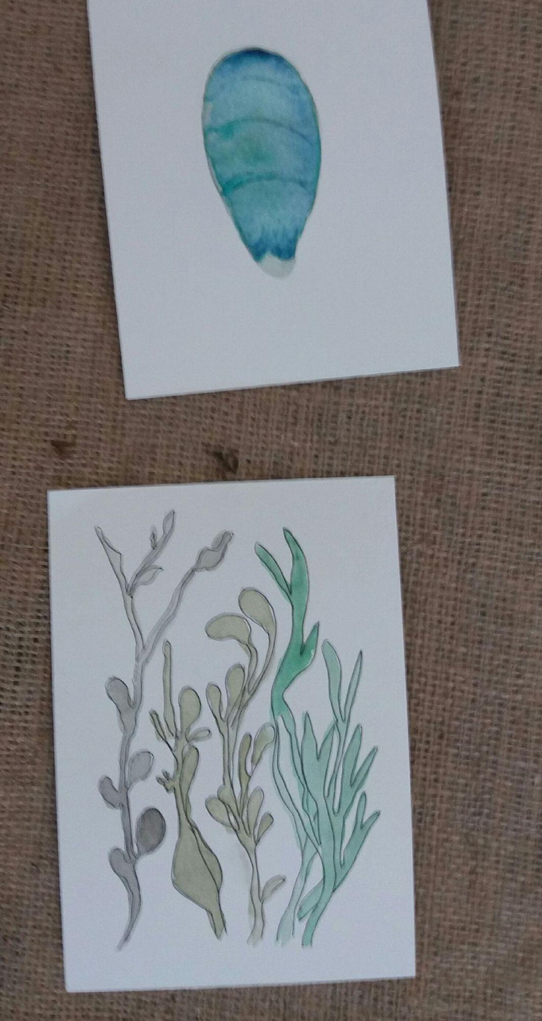 watercolour seaweed2