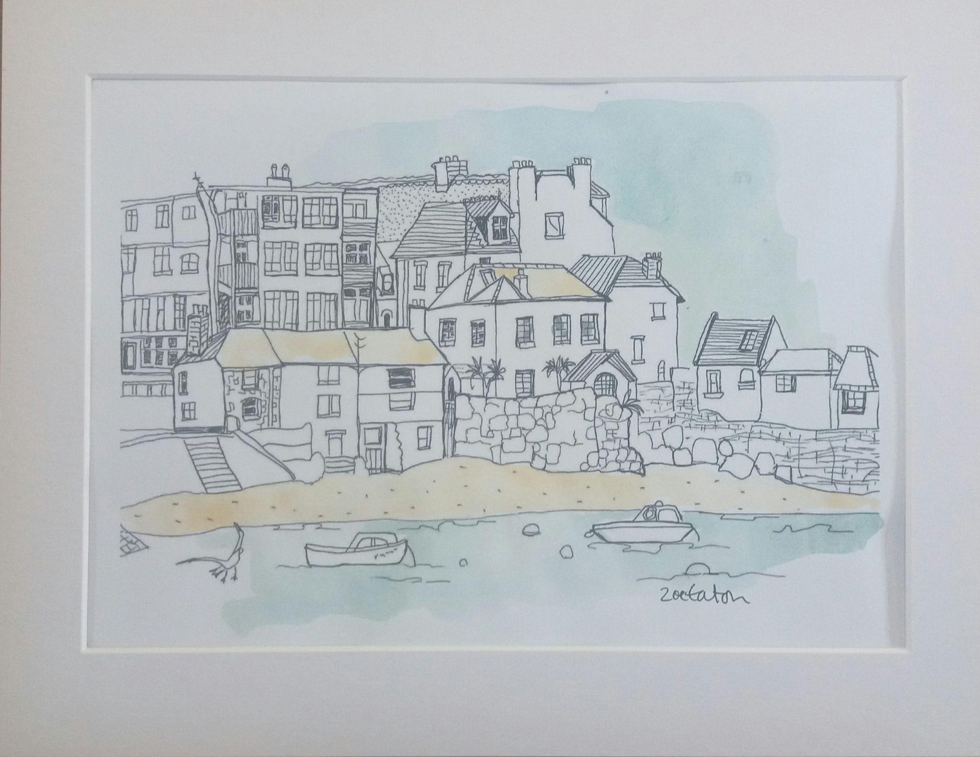 harbour print
