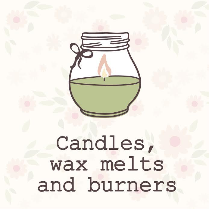 Candle, tea light holders, wax melts and burners