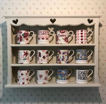 Handmade Heart Cut Out Shelving Unit - Choice Of Colours ❤️ *MADE TO ORDER*