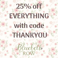 25% off EVERYTHING with code THANKYOU