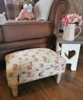 Country Roses Footstool