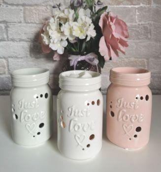 Mason Jar Ceramic  Warmer