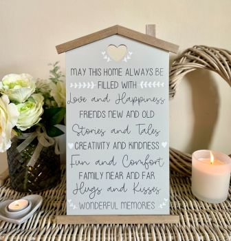 House Family Rules Plaque