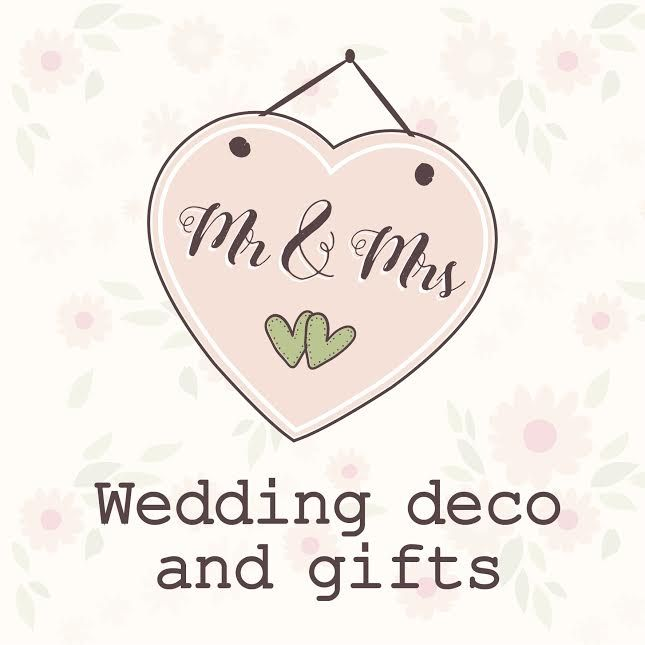 Wedding decorations and gifts