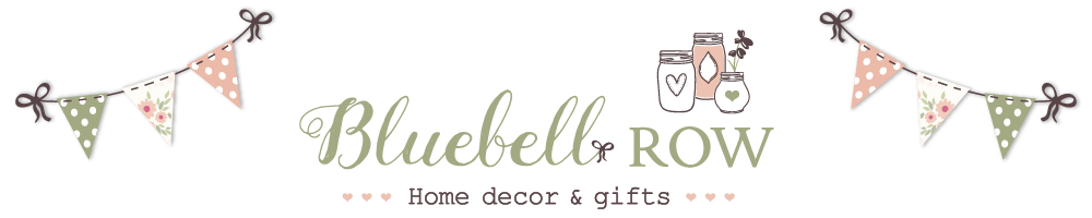 Bluebell Row, site logo.