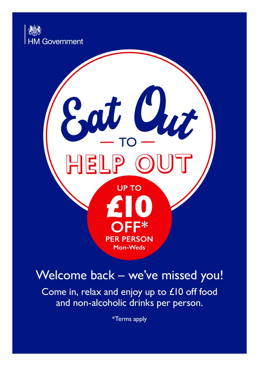Taunton-Hotels.com   'Eat Out To Help Out' - Full list of Taunton Restaurants