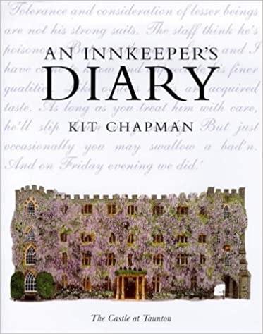 An Innkeeper's Diary By Kit Chapman