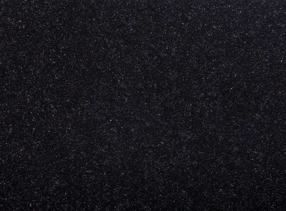 Black Sparkle - Solid Surface