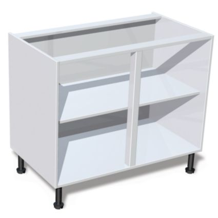 Tradeline 15mm white kitchen carcases buy online today for Kitchen carcasses only