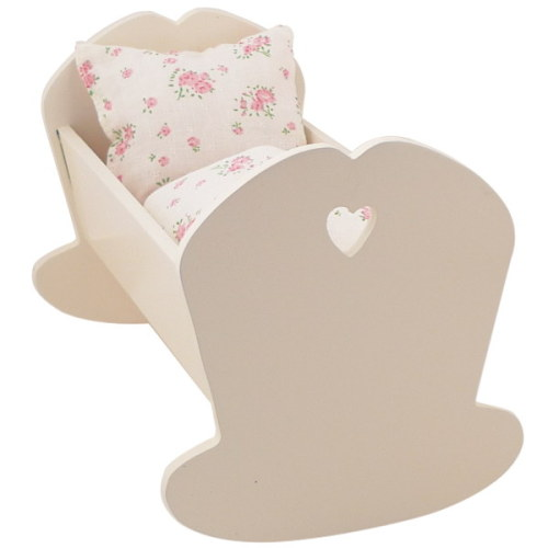 Maileg small wooden cradle