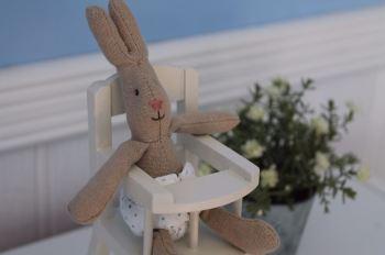 Maileg Micro Rabbit & High Chair Set