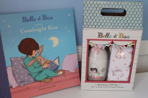 Belle and boo bedtime gift set