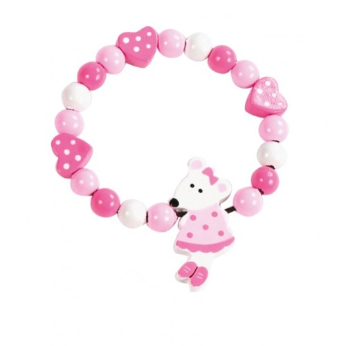 Pink Mouse Bracelet