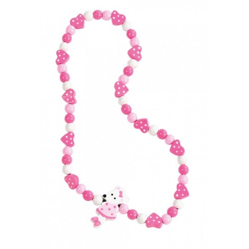 Pink mouse Necklace