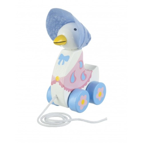 Jemima Puddle-Duck pull along toy