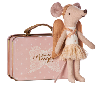 Maileg Christmas Angel mouse and suitcase 16