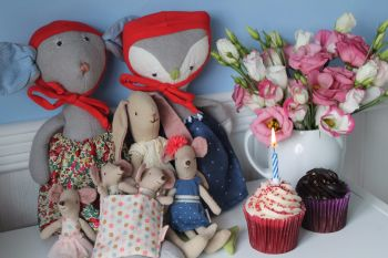 Maileg Birthday mouse and bunny