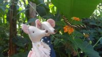 Maileg mice and butterflys