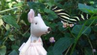 Maileg little sister and butterfly