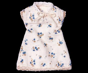 Maileg, Mini Blue Floral Nightie