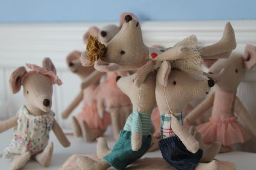 Maileg Christmas mice