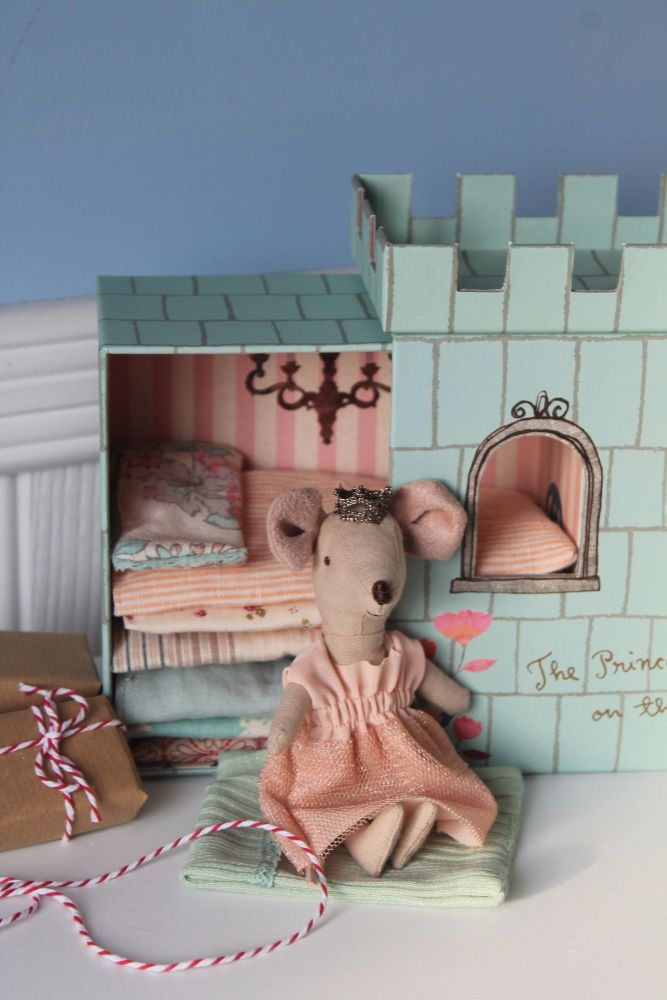 Maileg, Princess and the Pea Mouse