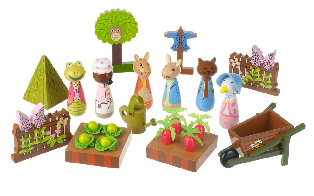 Play Set - Peter Rabbit orange tree