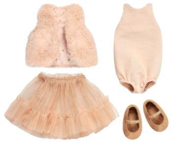 Maileg, Medium Bunny Dance Princess Set