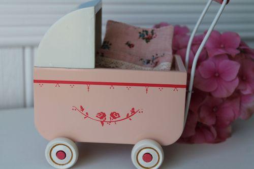 Maileg My pink pram