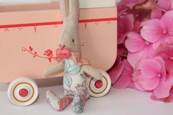Maileg, My Baby Girl in Pink Pram Set
