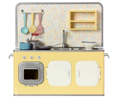 Maileg, Yellow Metal Kitchen
