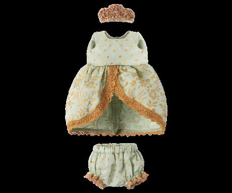 Maileg, Micro and Mouse Princess Dress (Mint)